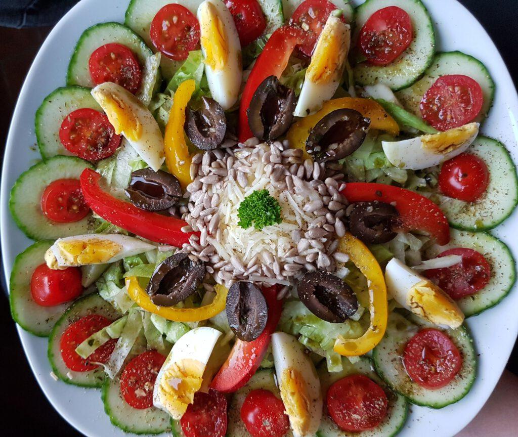 Salat macht fit und gesund